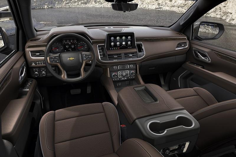 Chevy Small Suv >> Burly New Chevy Tahoe, Suburban Bow | WardsAuto