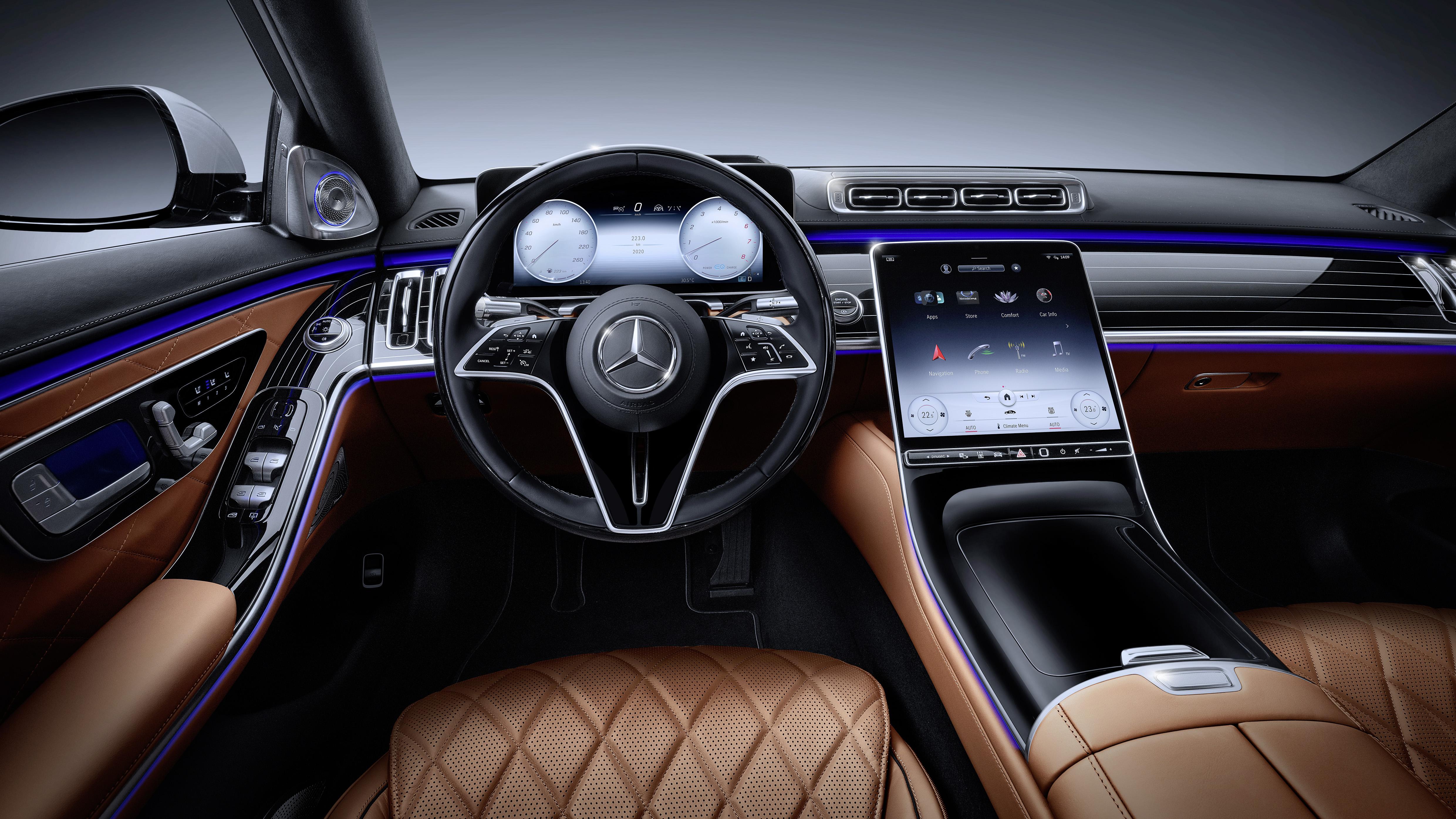 New-Gen Mercedes S-Class Features Level 3 Autonomy | WardsAuto