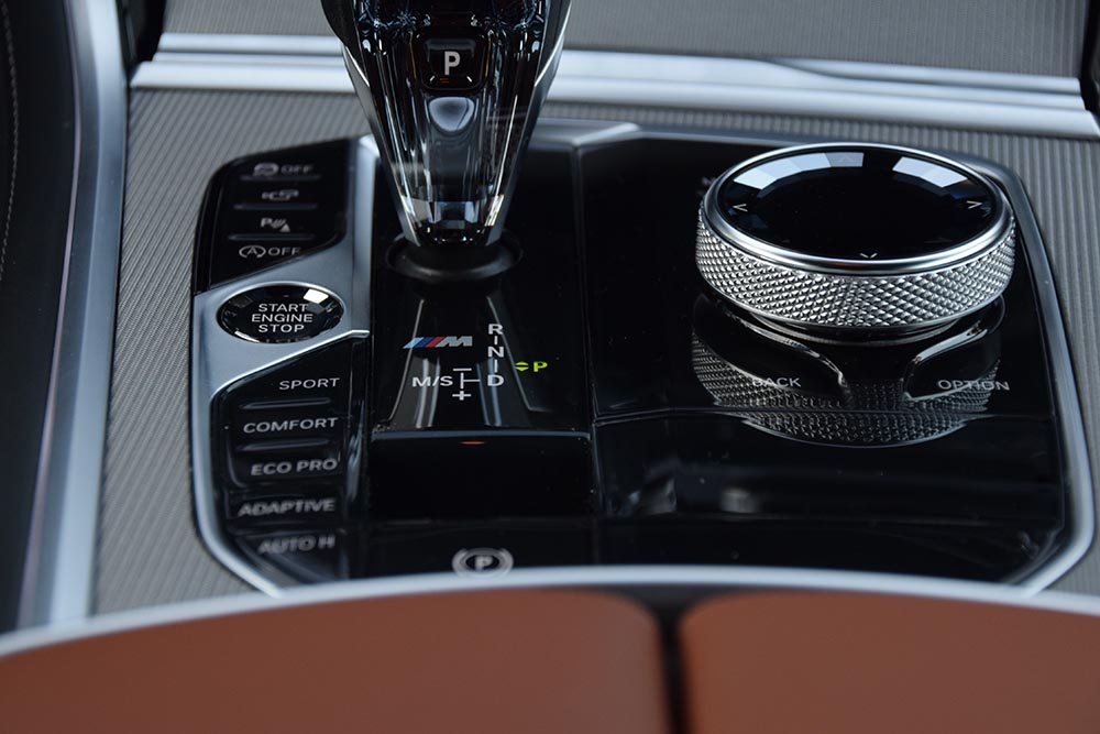 BMW M850i center controls.jpg