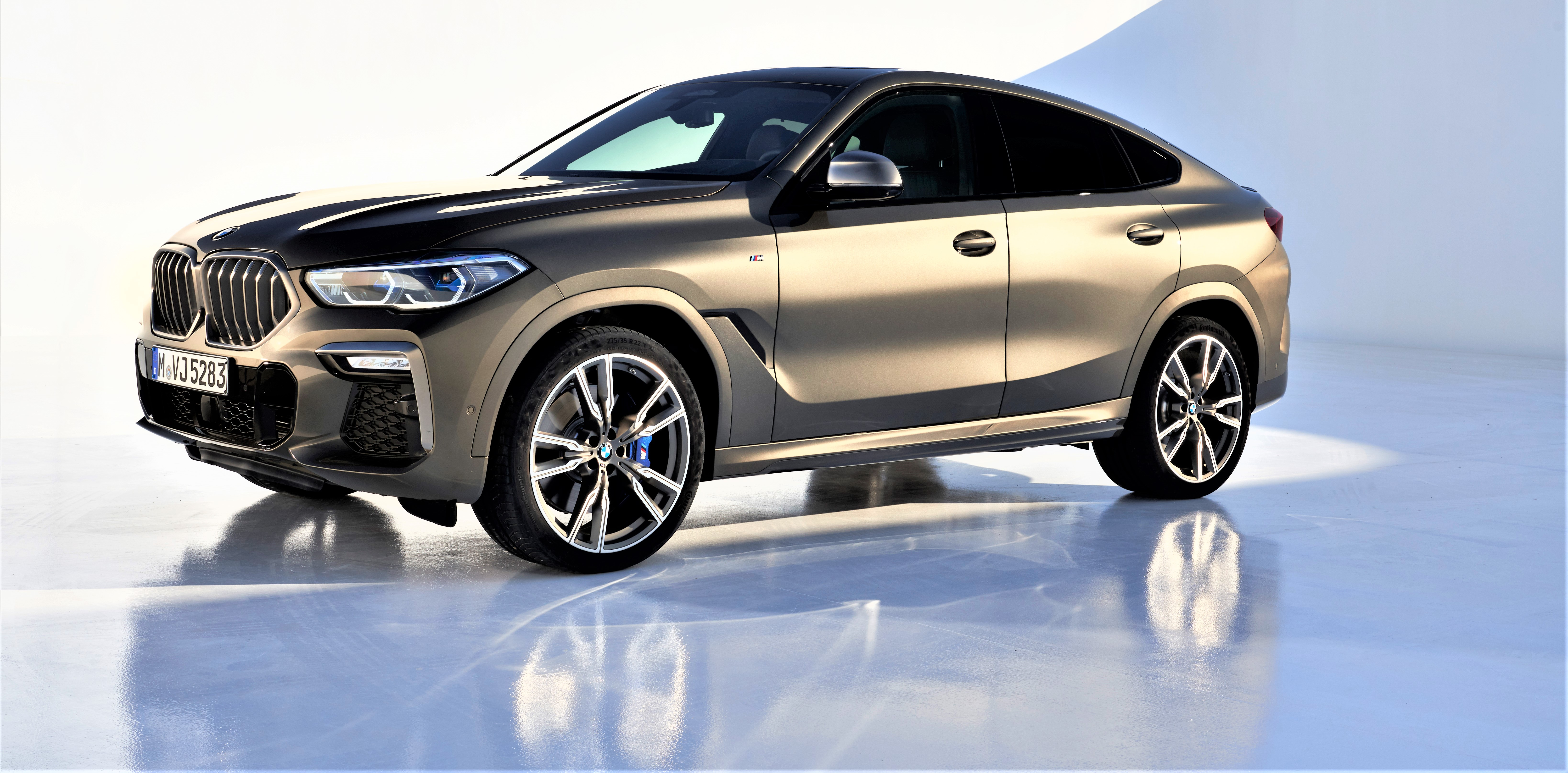 Covers Come Off New BMW X6