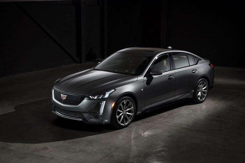 Cadillac CT5 Sport.