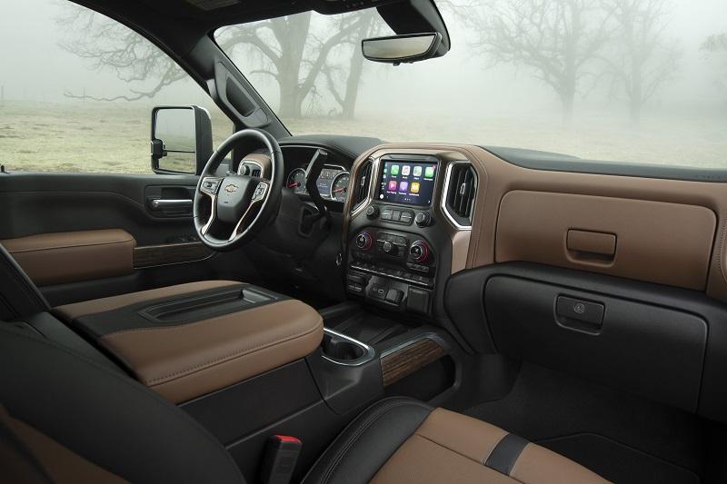 General Motors Gm Reveals 2020 Chevy Silverado 2500hd 3500hd