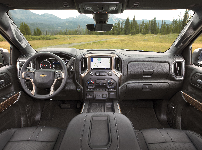 General motors 2019 chevy silverado more than meets your Chevy silverado high country interior