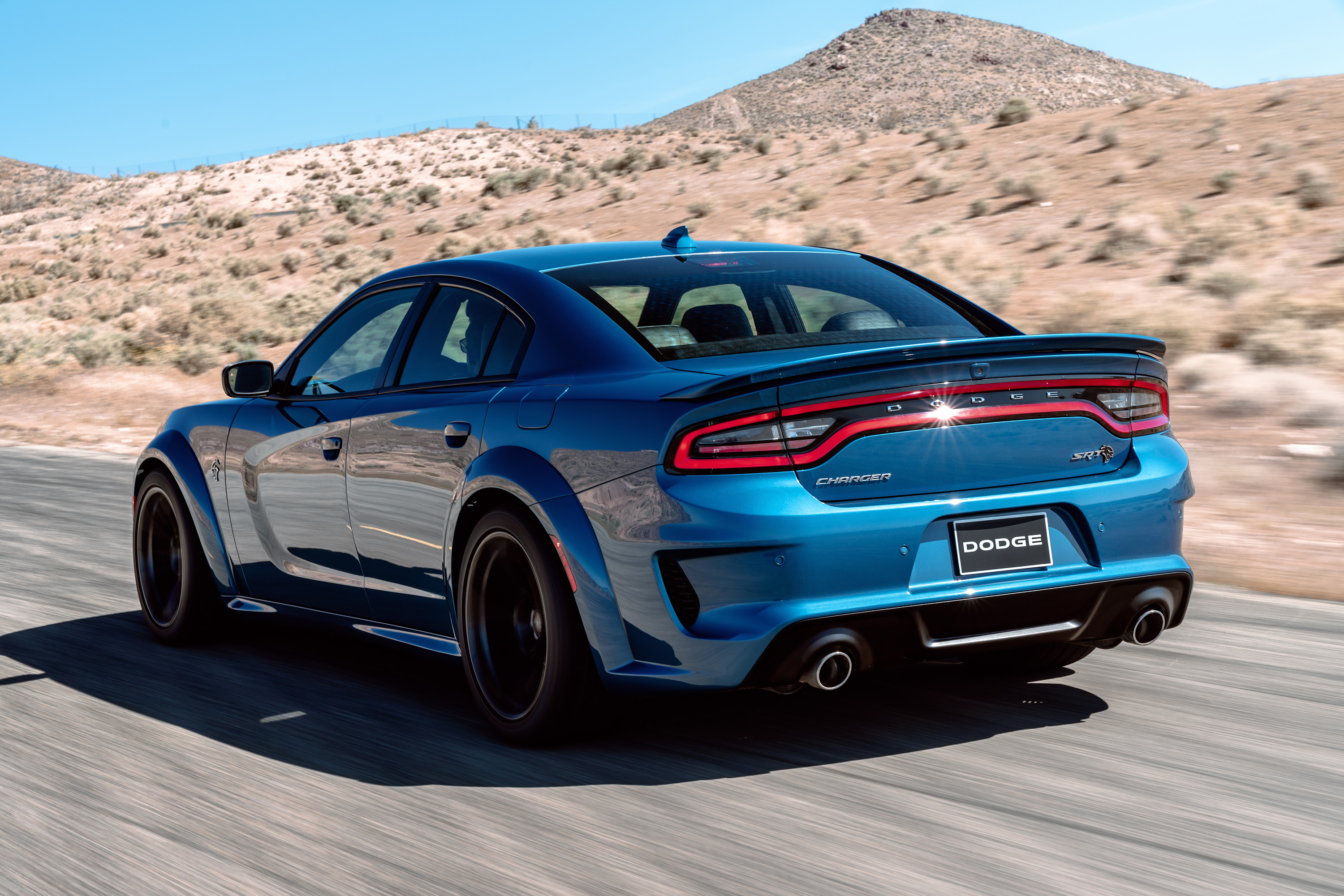 Dodge Charger Widebody blue rear.jpg