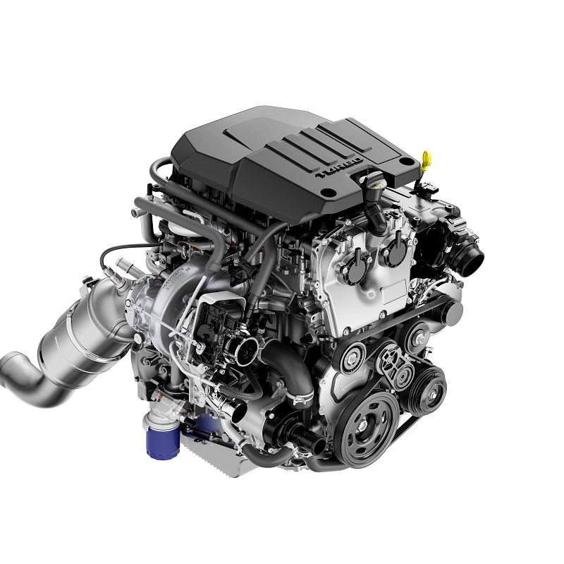 2.7L turbo 4-cyl.
