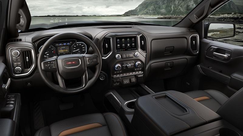 GMC Sierra AT4 off-road take on brand's Denali luxury trim level.