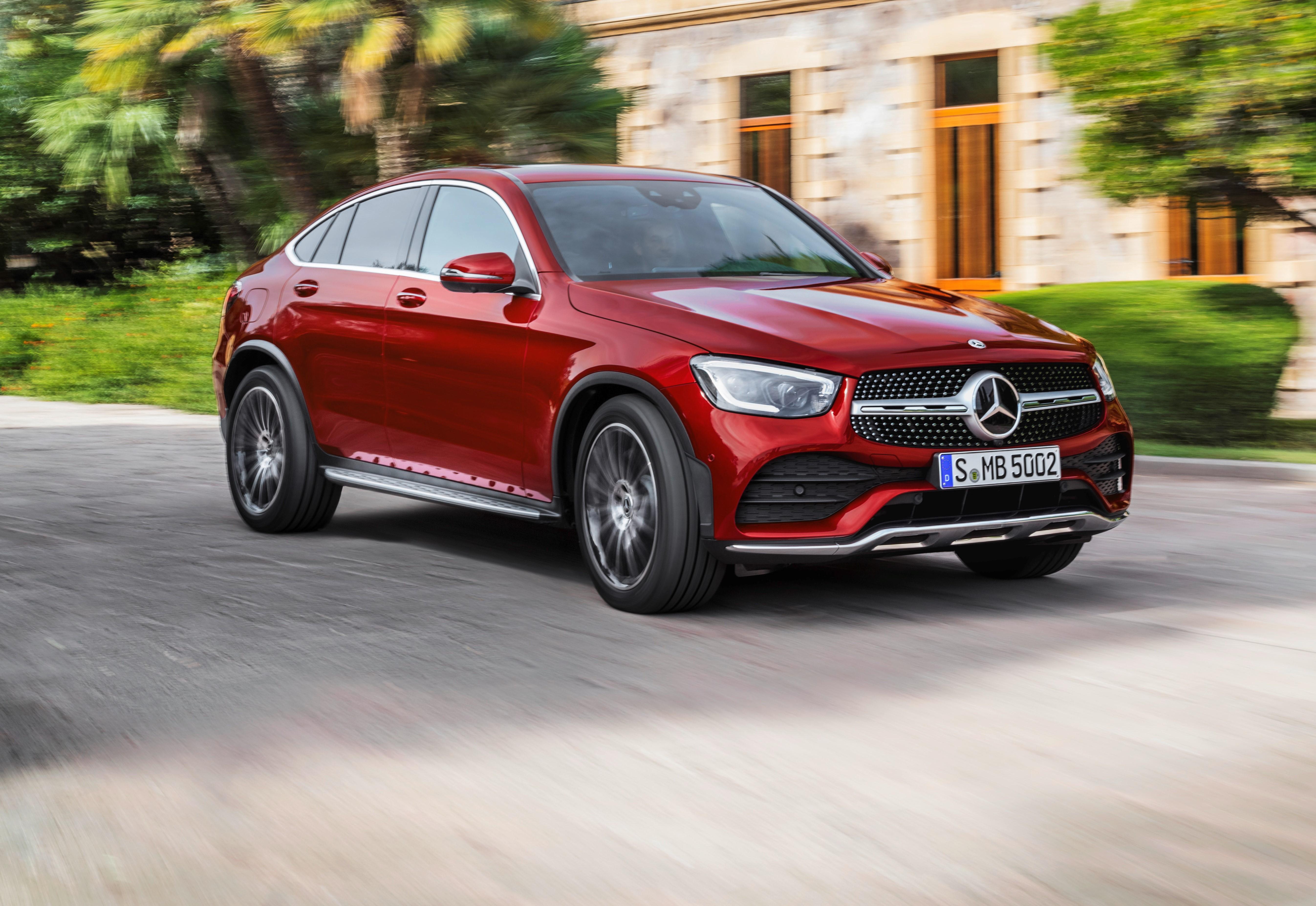 Mercedes Benz Glc Coupe Gets Midlife Facelift Wardsauto