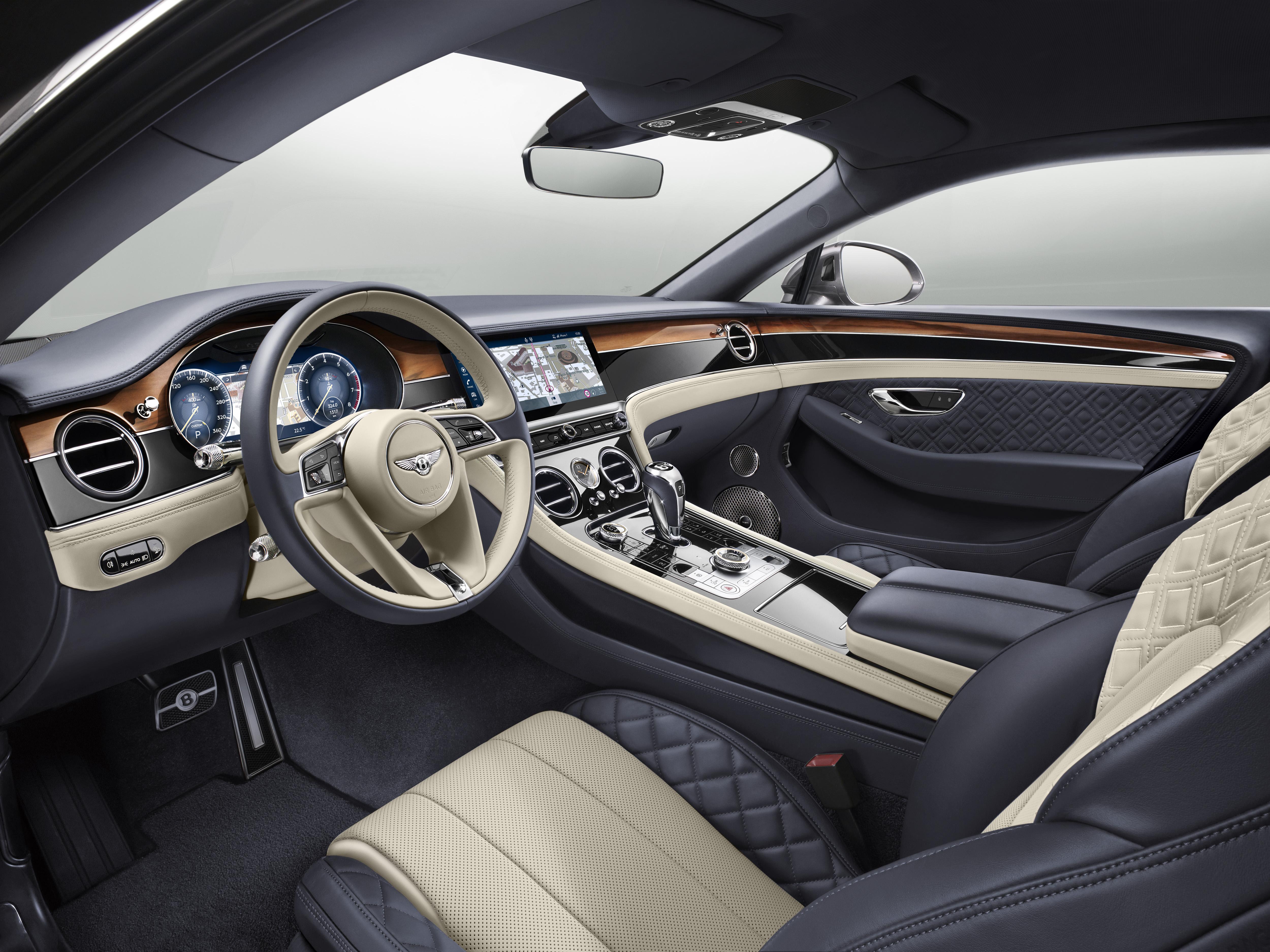 Continental Gt Sports Bentley S Sinewy New Interior Design Wardsauto