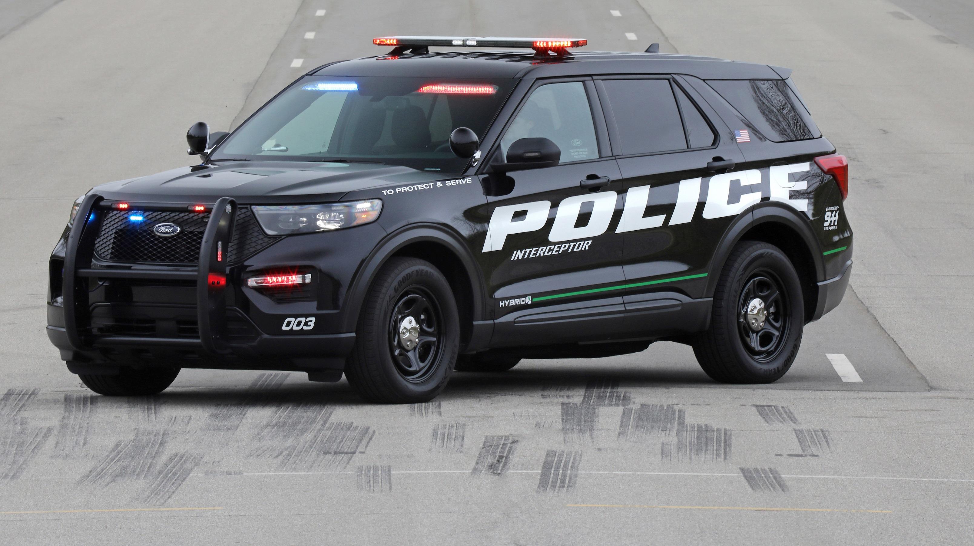 police power: 2020 ford explorer police interceptor hybrid