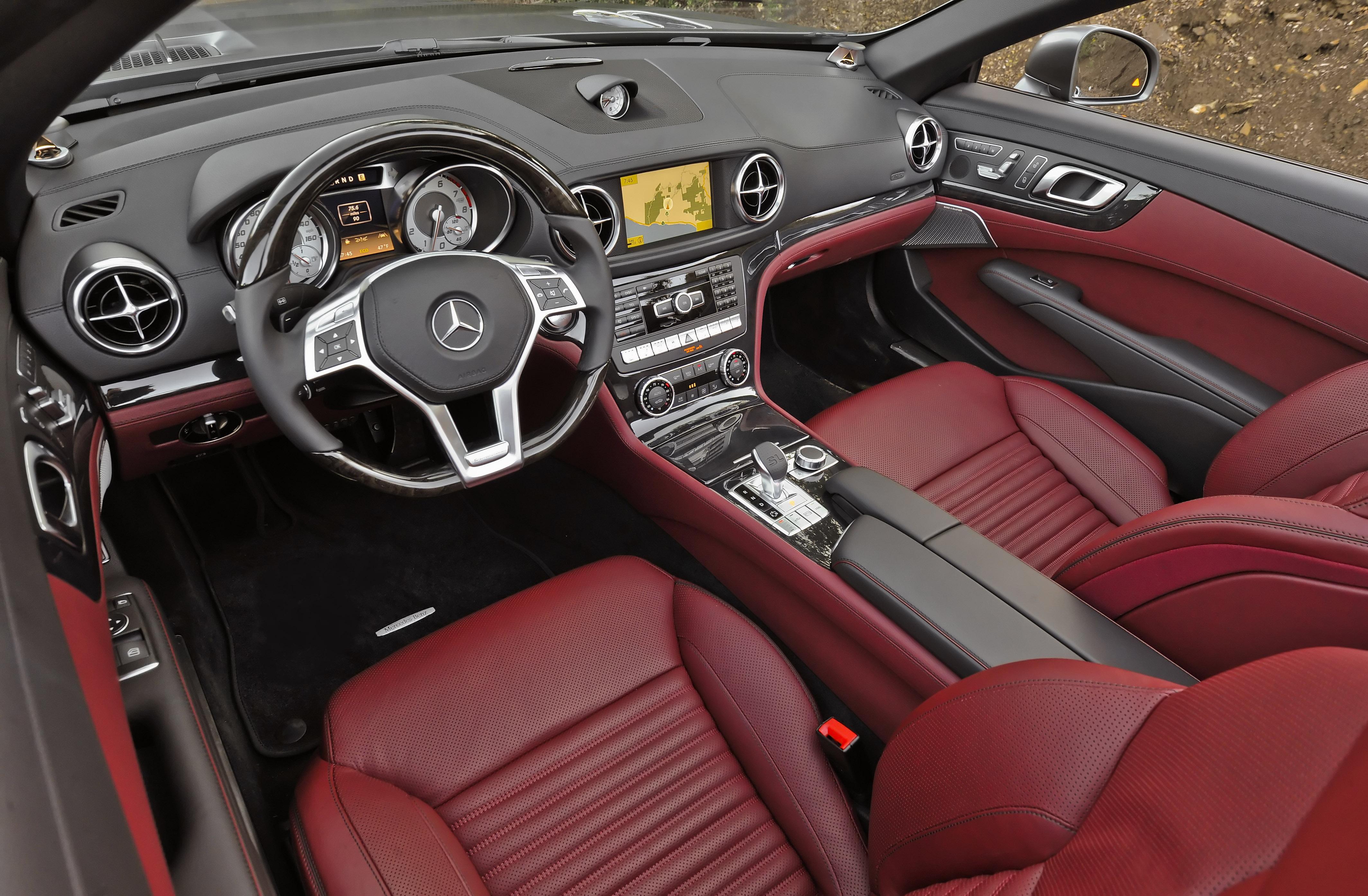 13 Mercedes Benz Sl550 Wardsauto