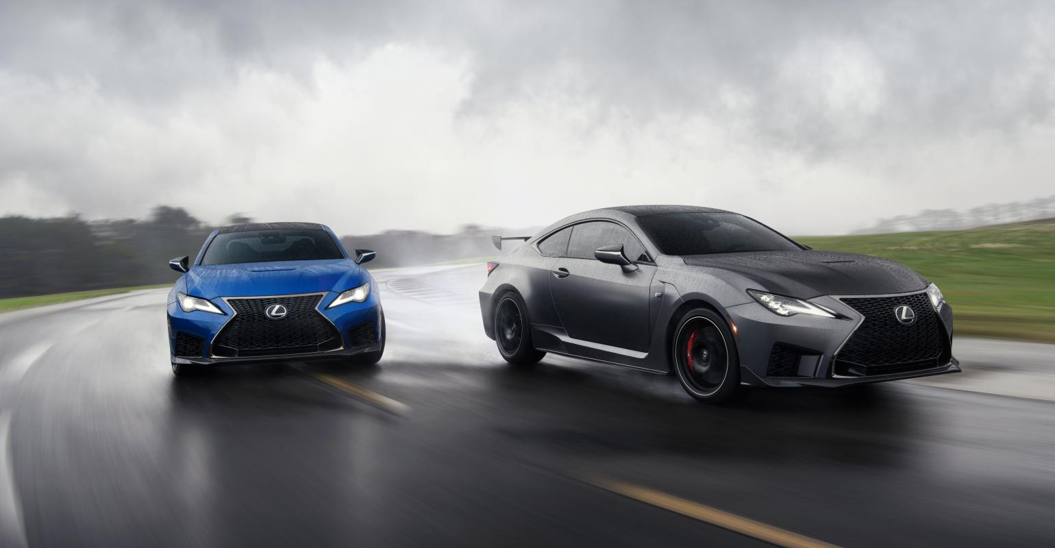 2019 Naias Lexus Refreshes Rc F Debuts New Track Edition Wardsauto