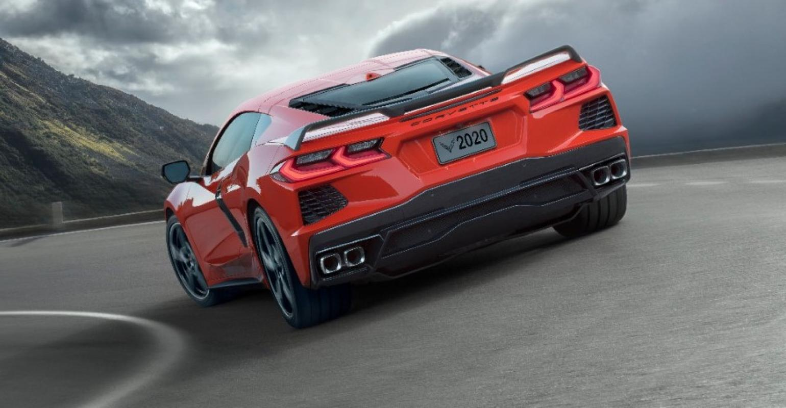 Watch The 2020 Chevy Corvette S Trick Gps Front Lift Tech In Action