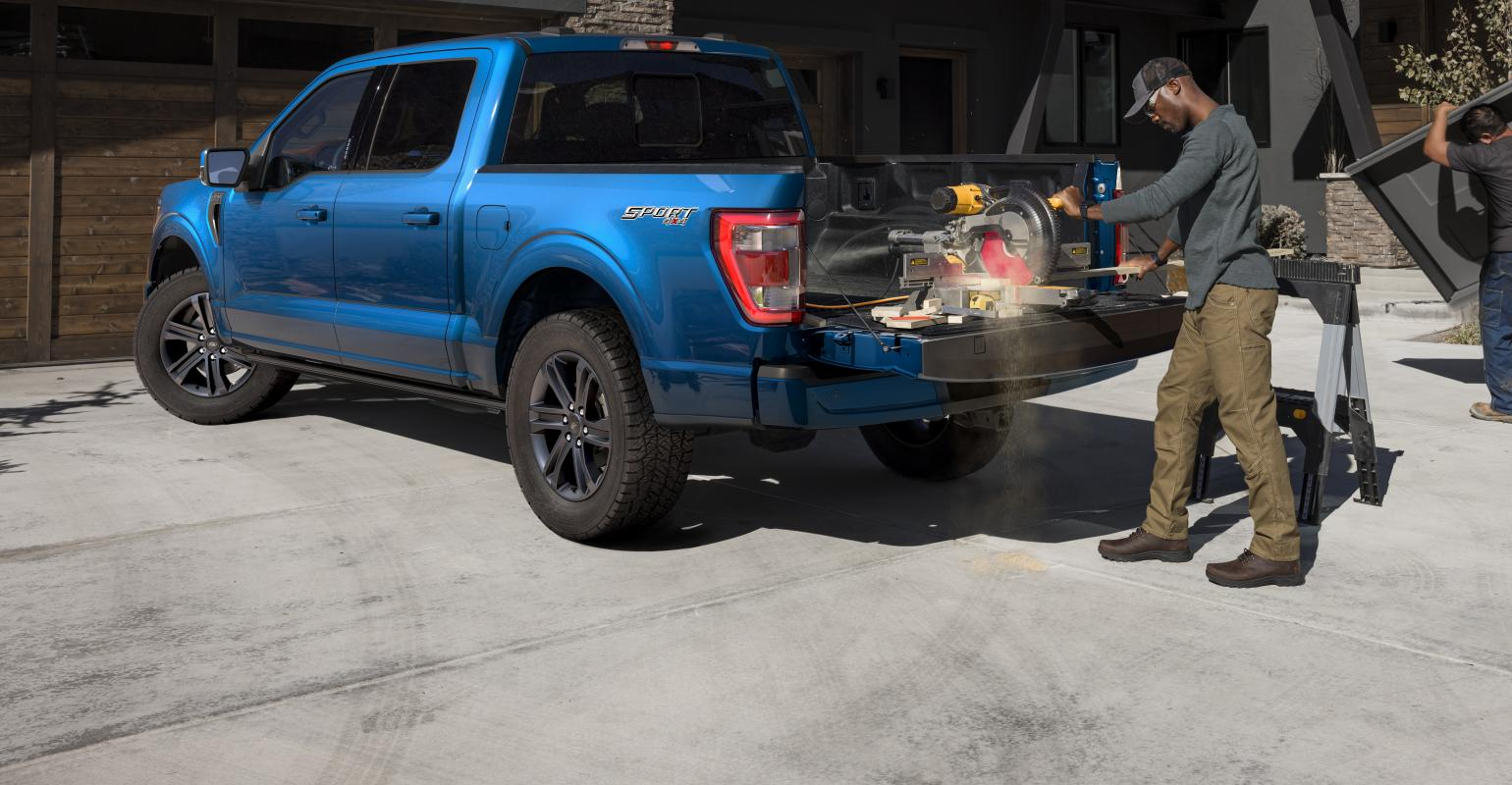 Coming to a Worksite Near You: All-new 2021 Ford F-150 | WardsAuto