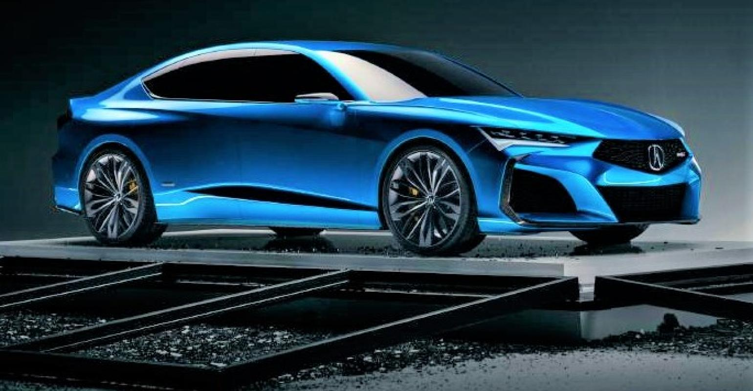 Acura Type S Concept Breathes New Life Into Sedans Wardsauto