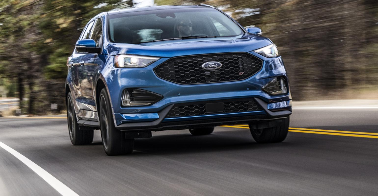 2019 Ford Edge ST Pushes for Performance