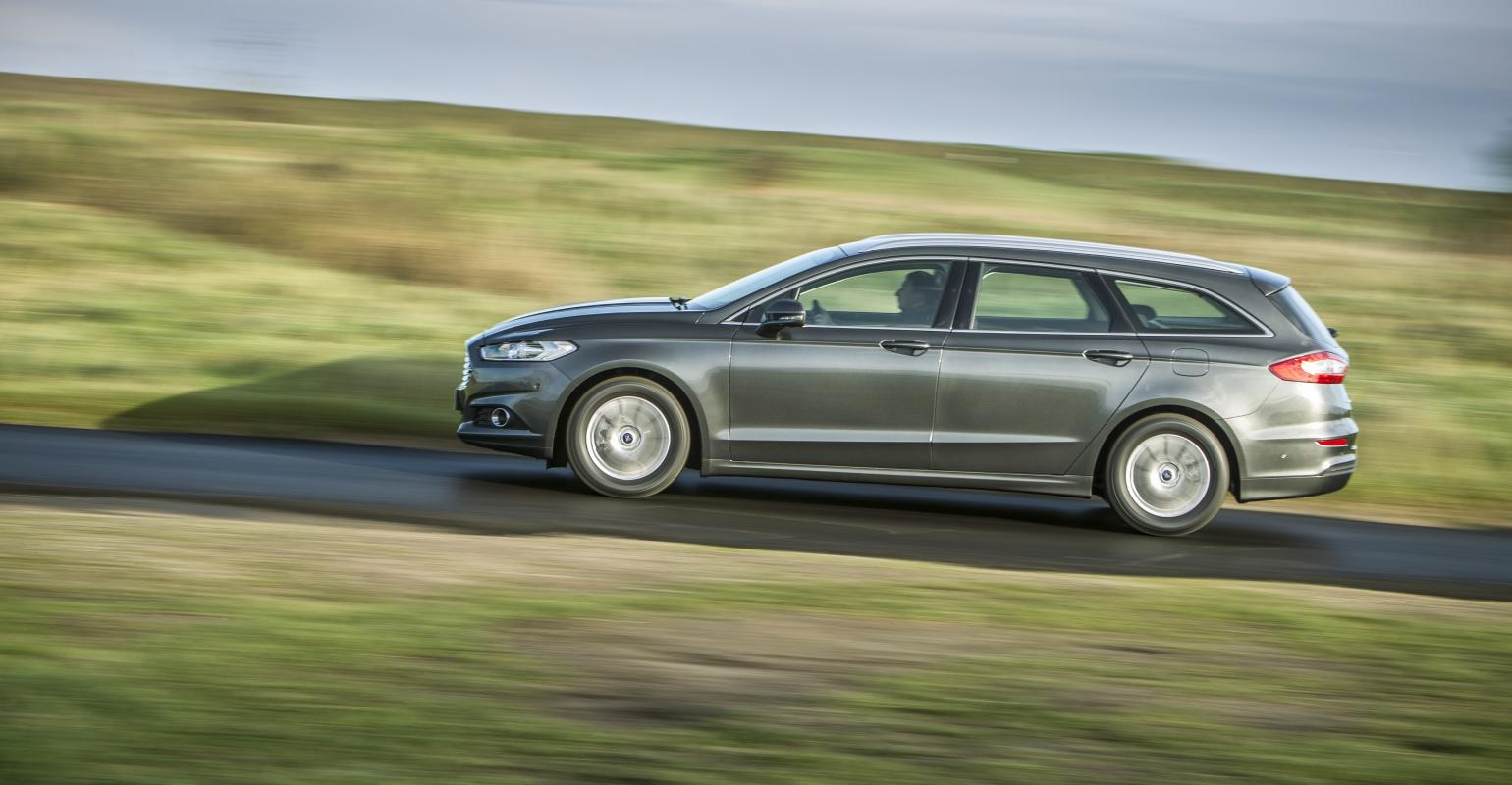 Station wagon among fords new generation of mondeo hybrid models