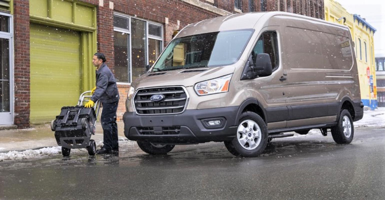 Ford Presents Upgraded Transit Van, New F-600 | WardsAuto