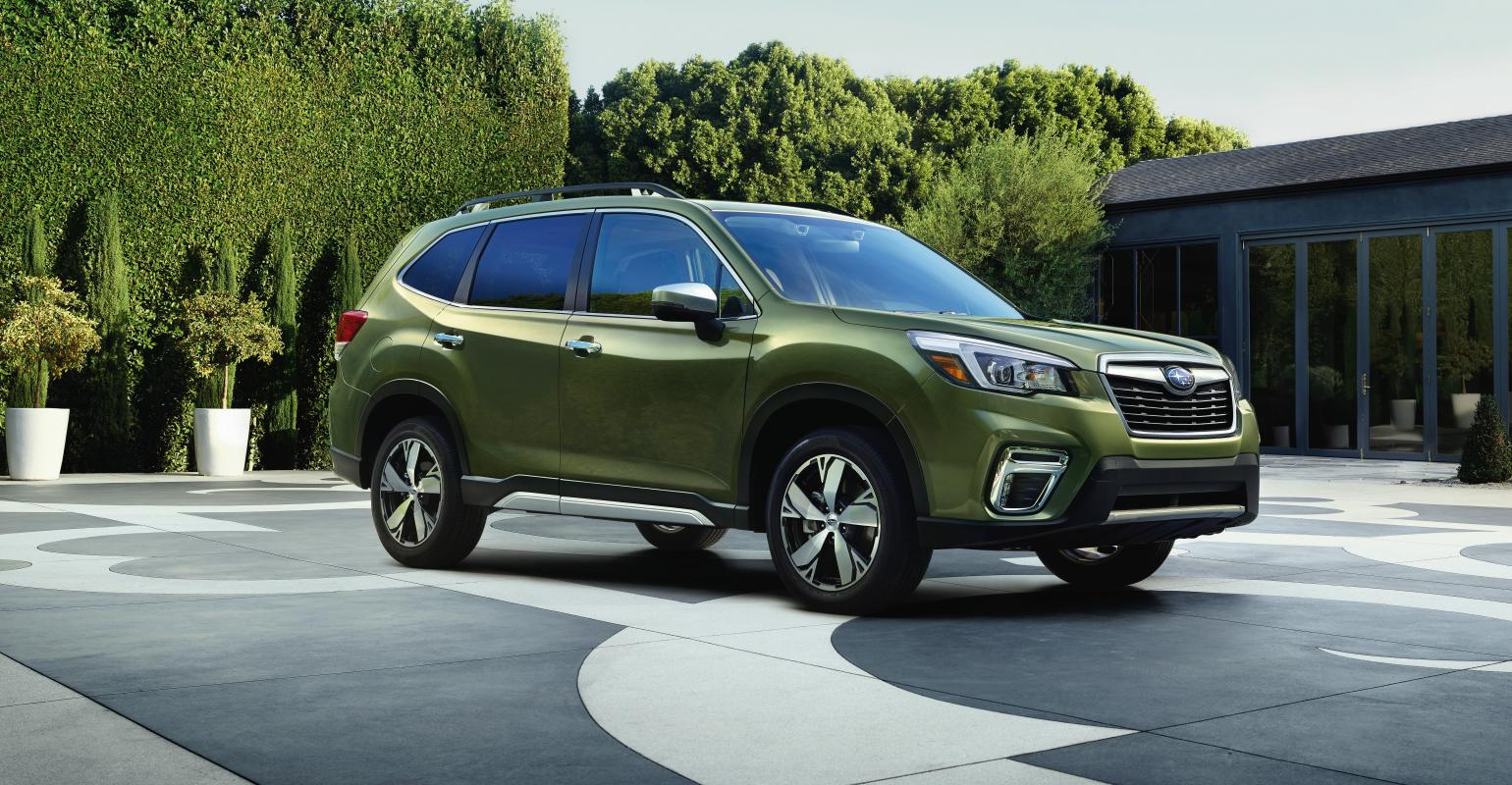 2019 Subaru Forester Gets Bigger Better But Not Wetter Wardsauto
