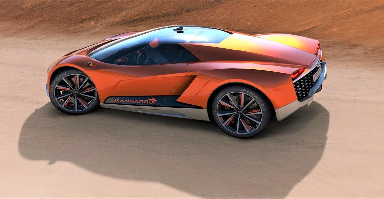 Voici Kangaroo, le premier SUV électrique qui peut rouler vraiment partout ! (Vidéo sur Bidfoly.com) Par Robin Ecoeur  GFG%20Style%20Kangaroo%202_2