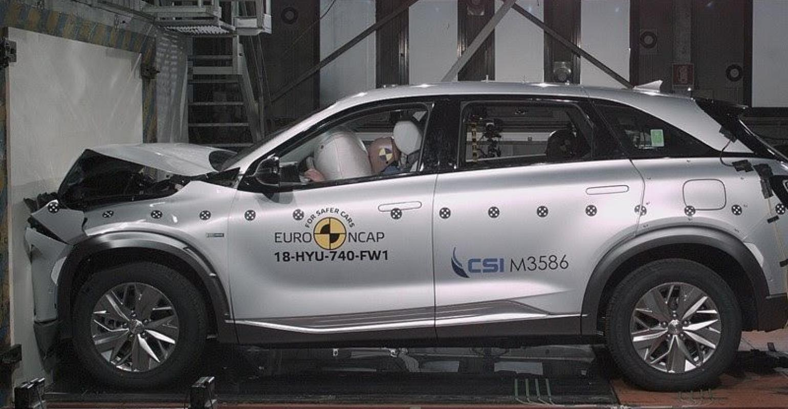 Hyundai Nexo Fuel Cell Vehicle Gets Top Crash Test Ratings