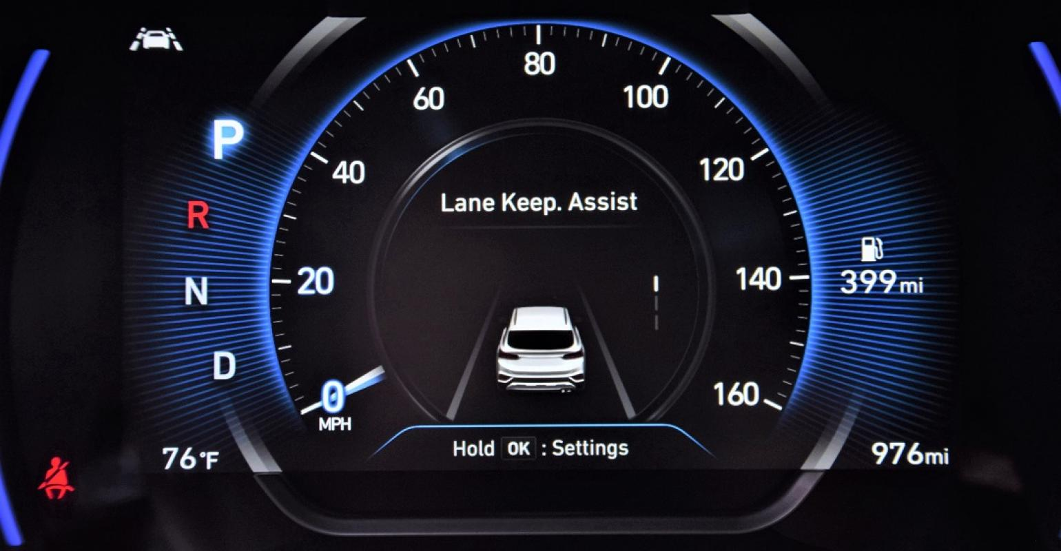 Lane Keep Assist >> 2019 Hyundai Santa Fe Delivers Best Value Proposition Yet Wardsauto