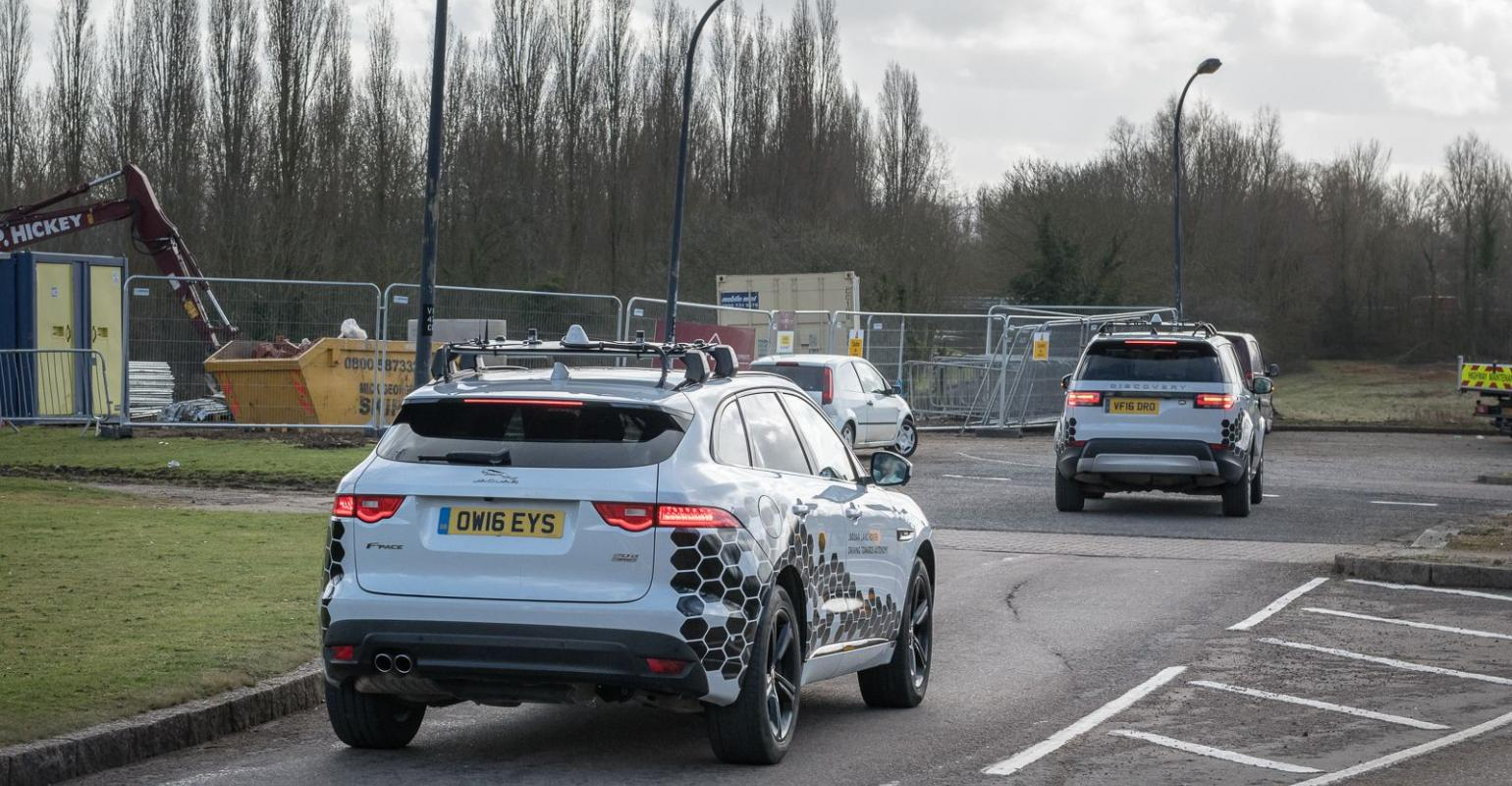 jlr tests connected cars on u.k. roads | wardsauto