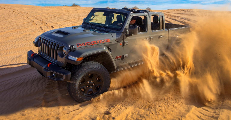 Jeep Draws Line In Sand With Gladiator Mojave Wardsauto