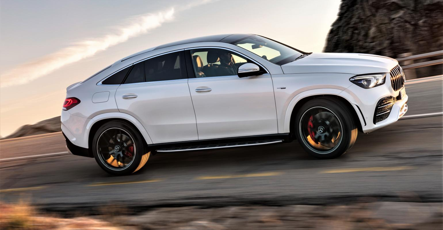 New Mercedes Benz >> Covers Come Off New Mercedes Benz Gle Coupe Wardsauto