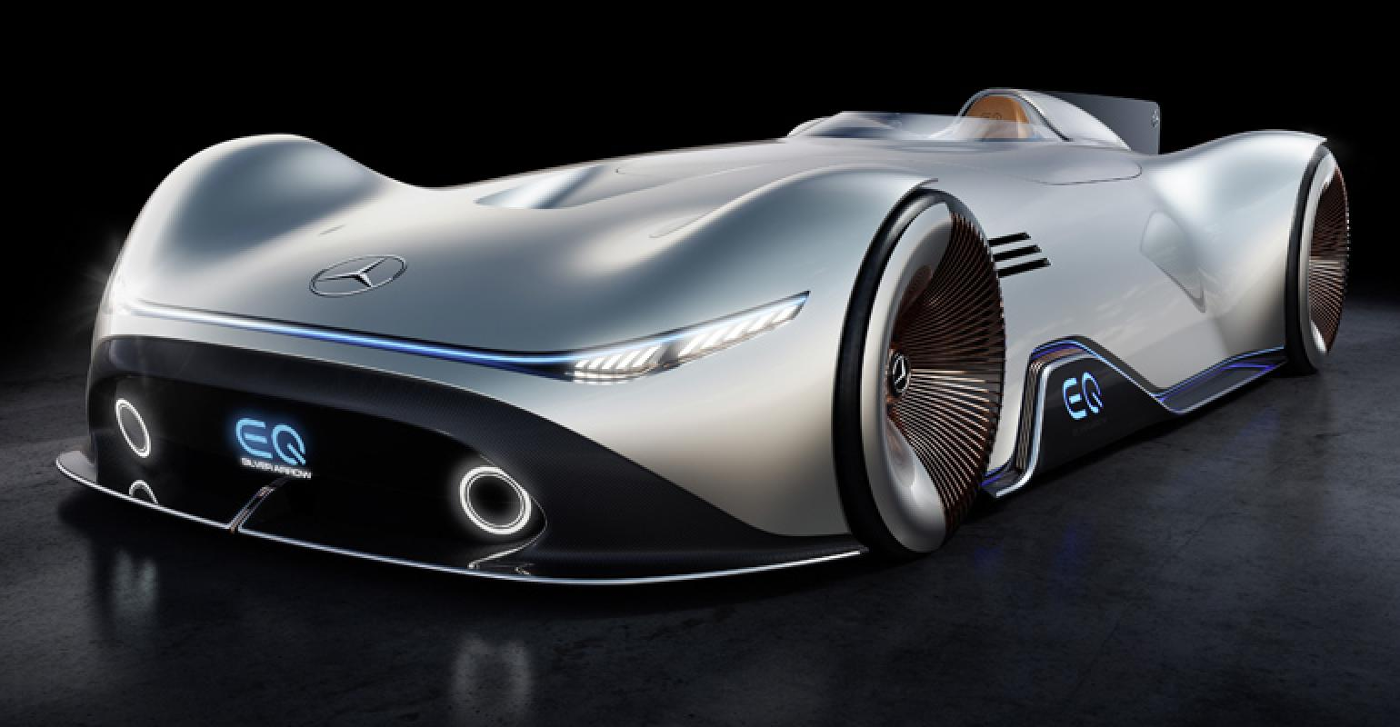 Mercedes Benz Eq Silver Arrow Points To Electric Future Wardsauto