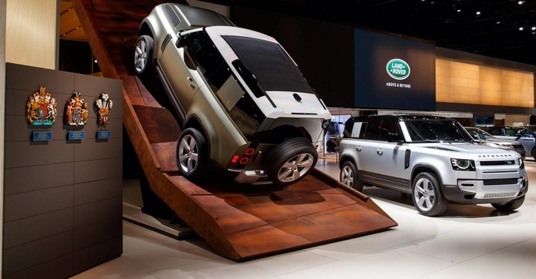 Frankfurt Auto Show 2020.New Land Rover Defender Uncovered In Frankfurt Wardsauto