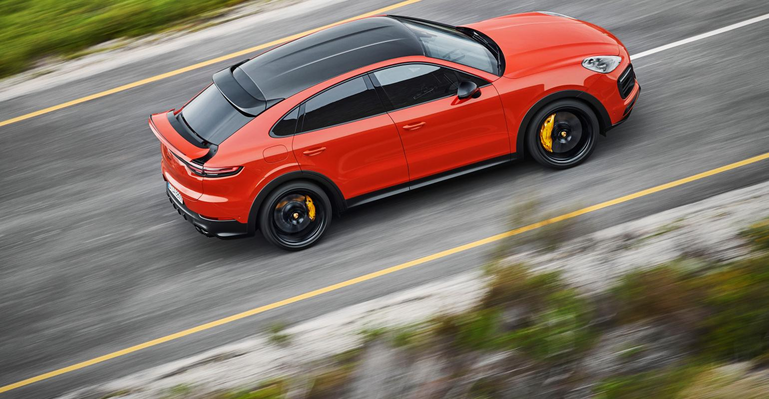 Porsche Cayenne Coupe Arrives
