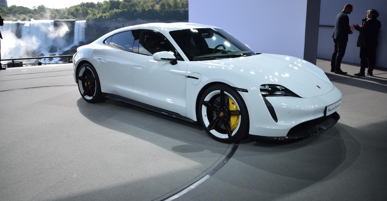 Taycan EV Joins Porsche Sports Car Lineup