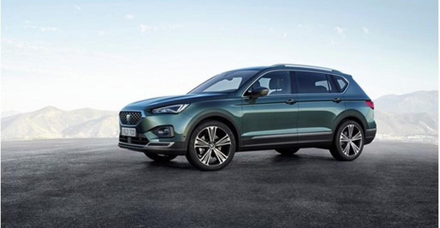 Tarraco Large Suv Shows Seat S New Design Direction