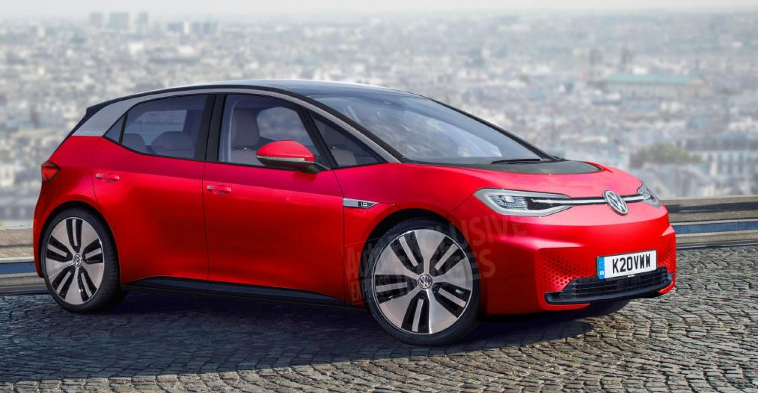 Volkswagen Confirms Entry Level I D Electric Car