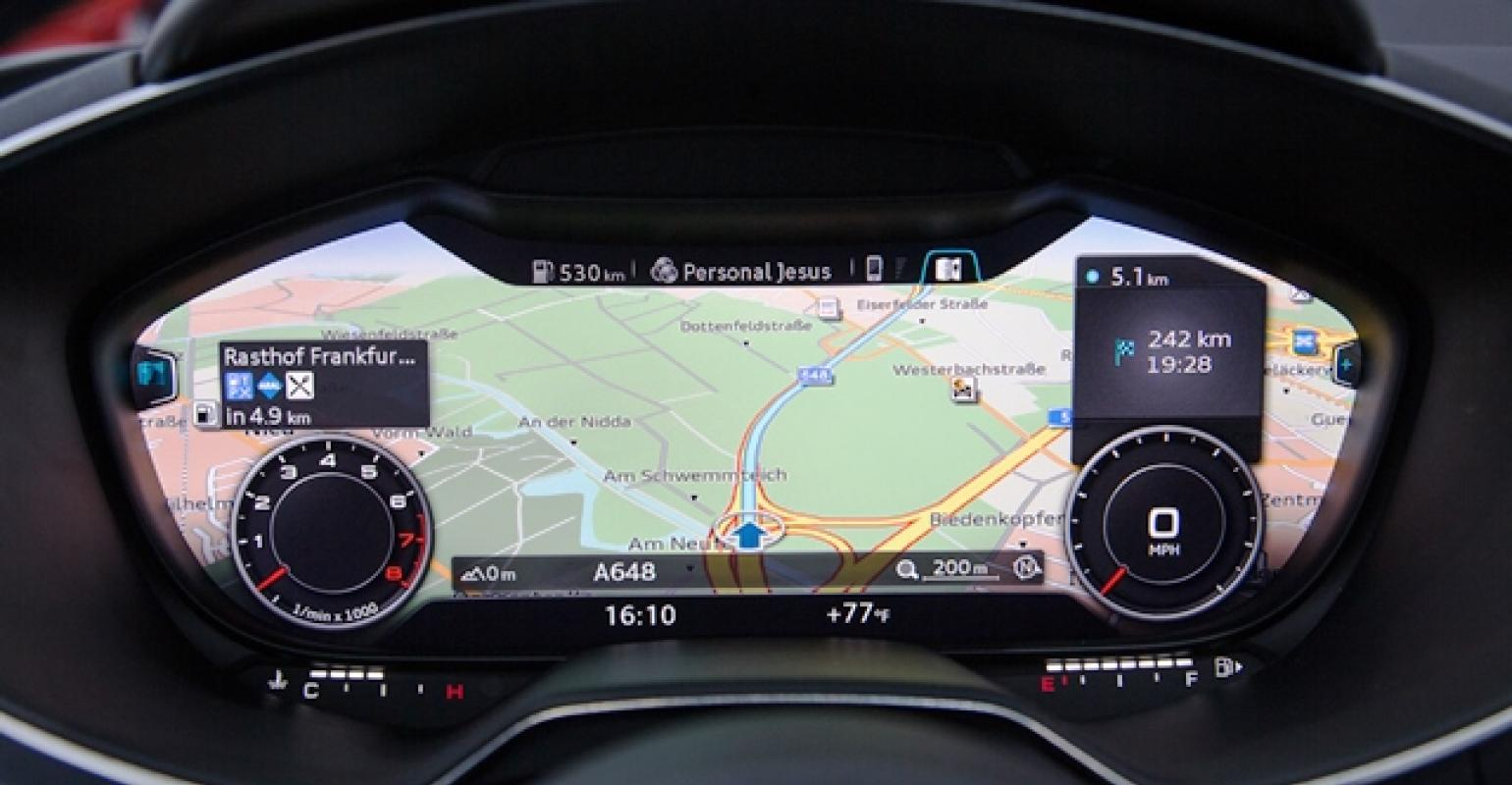 Audi's All-Digital Instrument Cluster | WardsAuto