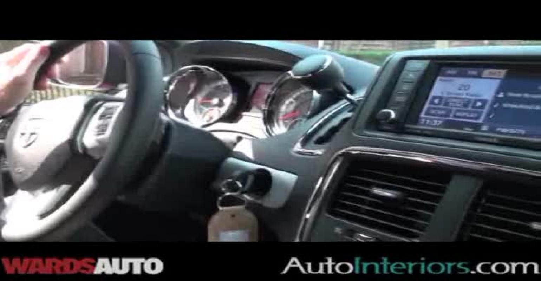Dodge Caravan R/T: Judging for Ward's 10 Best Interiors of 2012