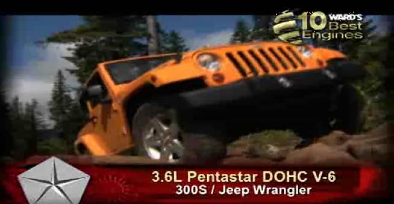 Ward's 10 Best Engines: Chrysler 3.6L DOHC Pentastar V-6