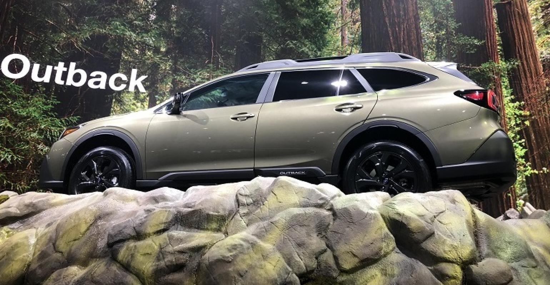 Ny Auto Show 2020.2020 Subaru Outback Makes Pseudo Seismic Debut In Ny Wardsauto