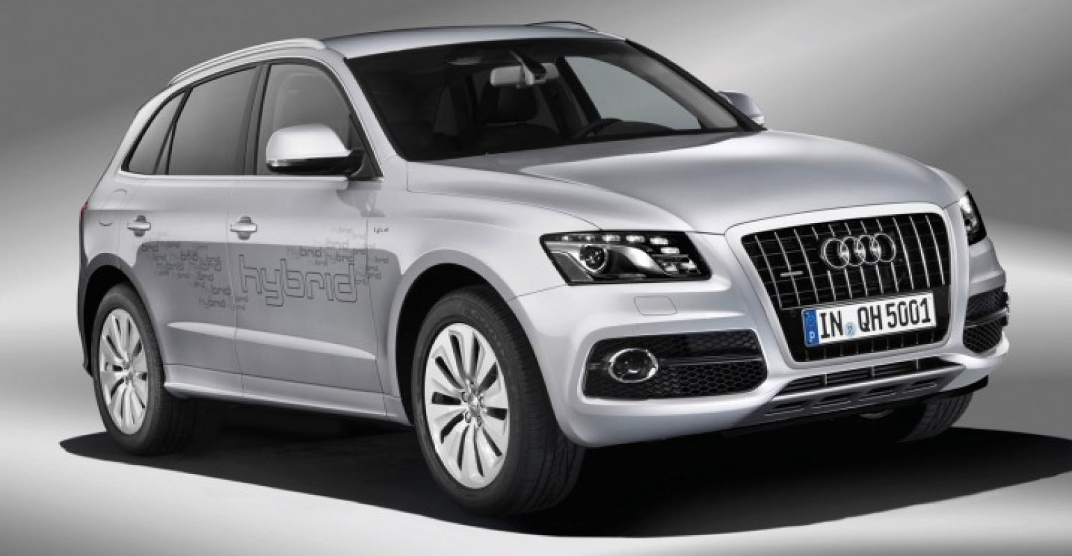 Audi To Position Q5 Sel For Performance Hybrid Fuel Economy
