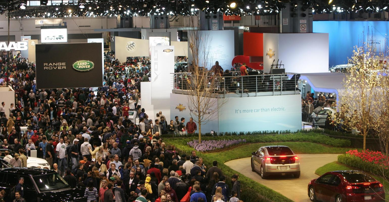 More Cars To Drive At Februarys Chicago Auto Show WardsAuto - Chicago auto show car deals