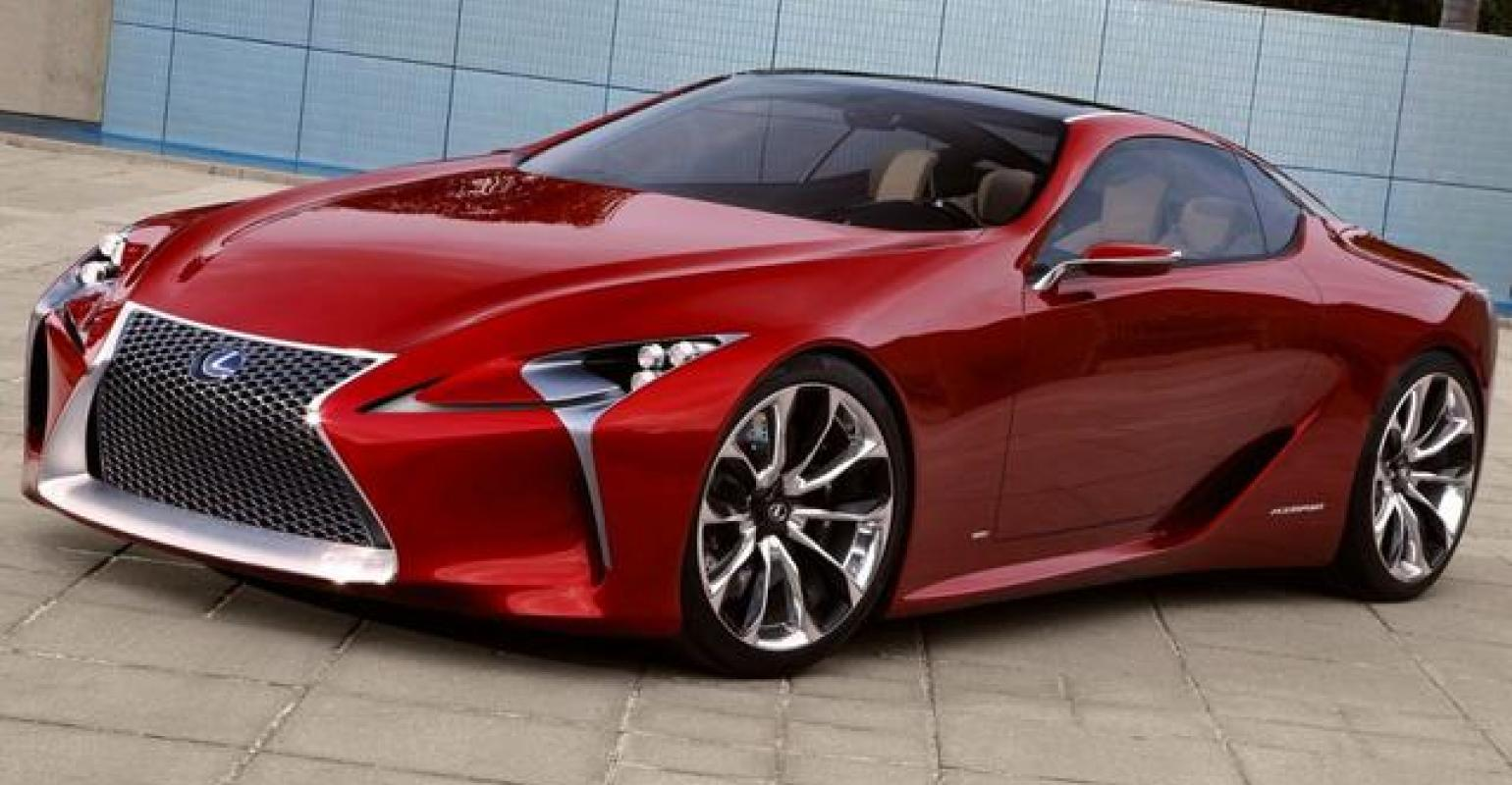 Lexus Lf Lc Hybrid Sport Coupe Refreshed Lx Suv Unveiled In Detroit