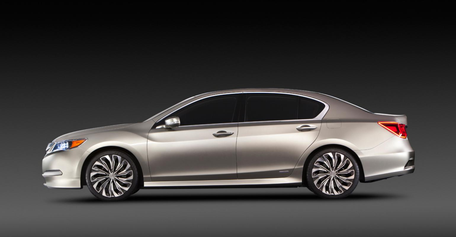 Acura Rlx Concept Uncovered In New York