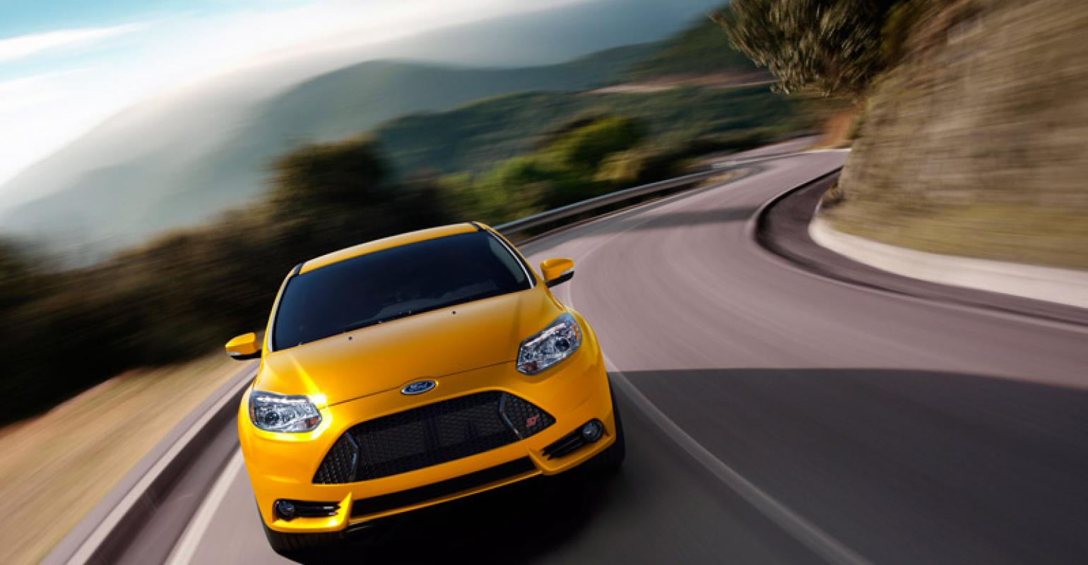 Ford Focus ST to Get 'Overboost' Feature | WardsAuto