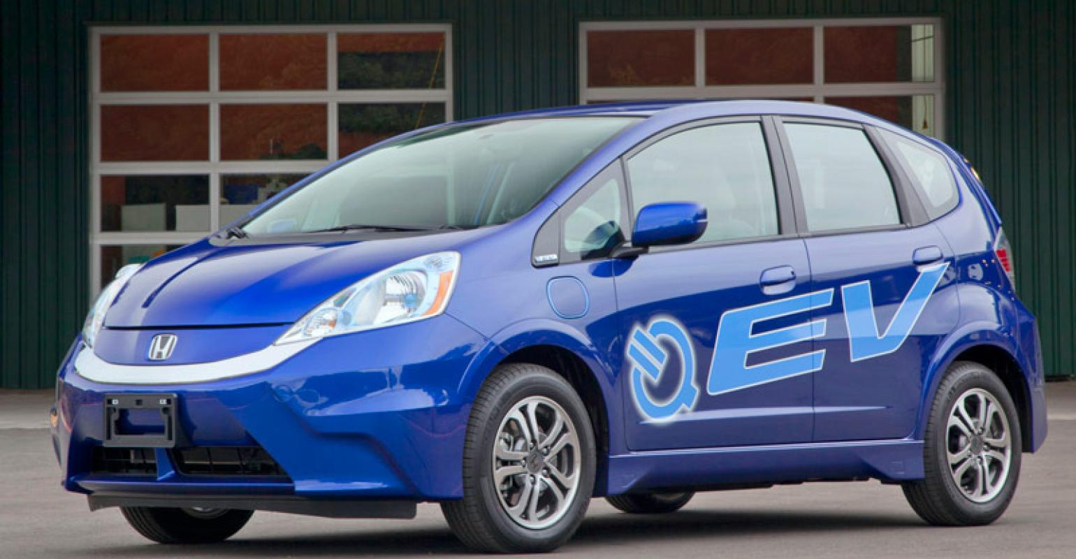 Honda Targets Lease Of 1 100 Fit Evs Over Two Years Wardsauto