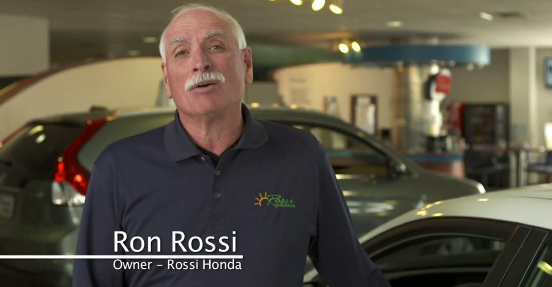 New Jersey Honda Dealer Ron Rossi Says 1 Million Solar Array Good Decision