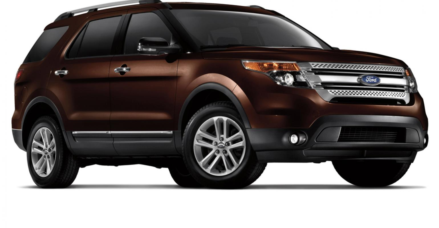 New Shades Such As Ford Explorerrsquos Kodiak Brown Gaining Pority With Car Ers