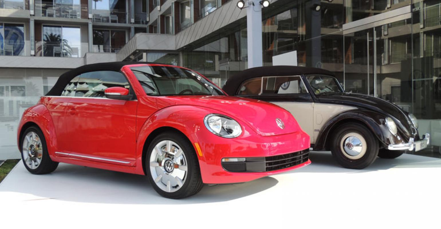 Vw Unveils Beetle Convertible In La Steps Up Gender Neutral Push Wardsauto