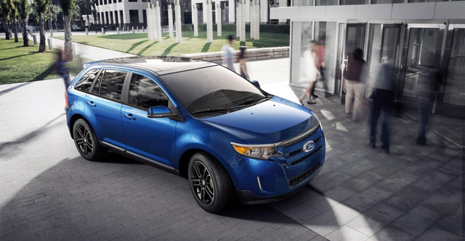 Ford Edge Posted Record Sales In October
