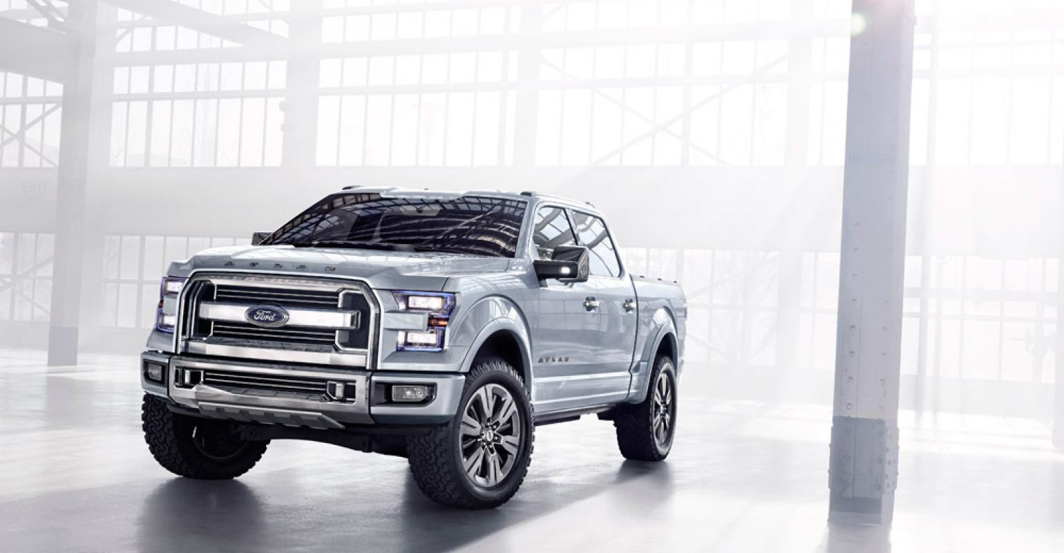 Ford Atlas Concept Indicator Of Future F 150