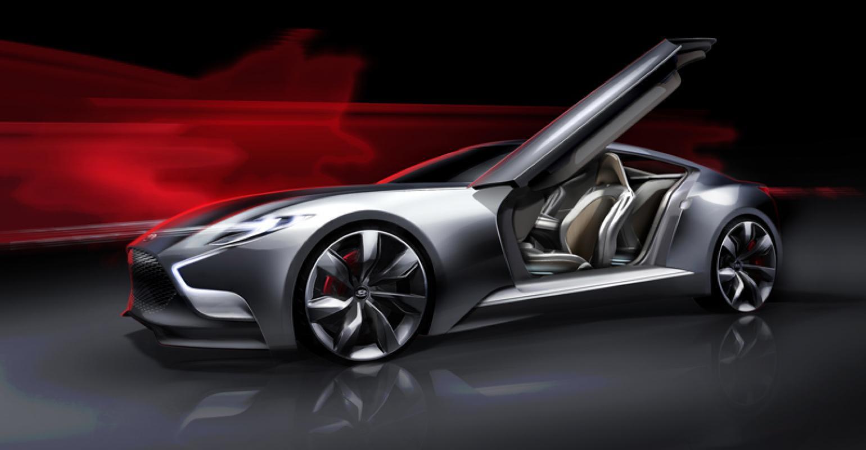 Hyundai Hnd 9 Concept Next Genesis Coupe Wardsauto
